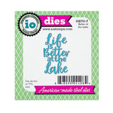 Better At The Lake Metal Die Cut by Impression Obsession Dies DIE701-F - Inspiration Station Scrapbook Store & Retreat