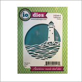 Lighthouse Circle Die Cut by Impression Obsession DIE548-Z - Inspiration Station Scrapbook Store & Retreat