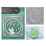 Lily Of The Valley Frame Metal Die Cut Set by Memory Box Dies 94215 - Inspiration Station Scrapbook Store & Retreat