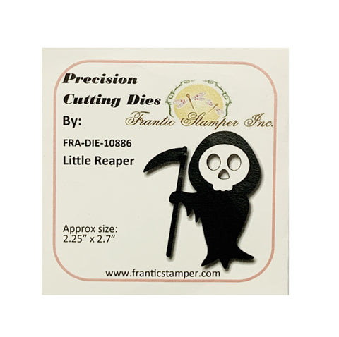Little Grim Reaper Metal Die Set by Frantic Stamper Dies FRA-DIE-10886