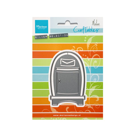 Mailbox Metal Die Cut by Marianne Craft Dies CR1519
