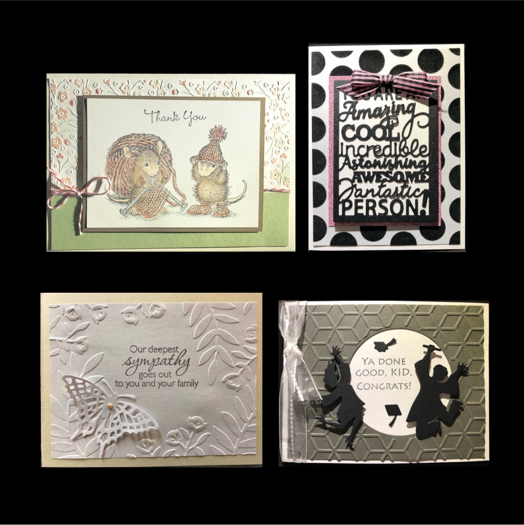 May 2018 Handmade Card Kit - Card Class to Go