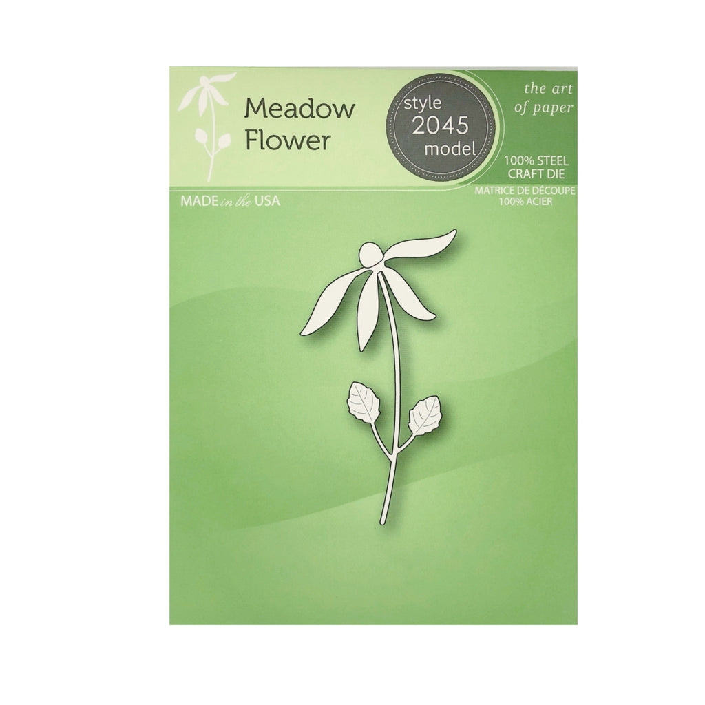 Meadow Flower Die Cut Set by Poppystamps Dies 2045 - Inspiration Station Scrapbook Store & Retreat
