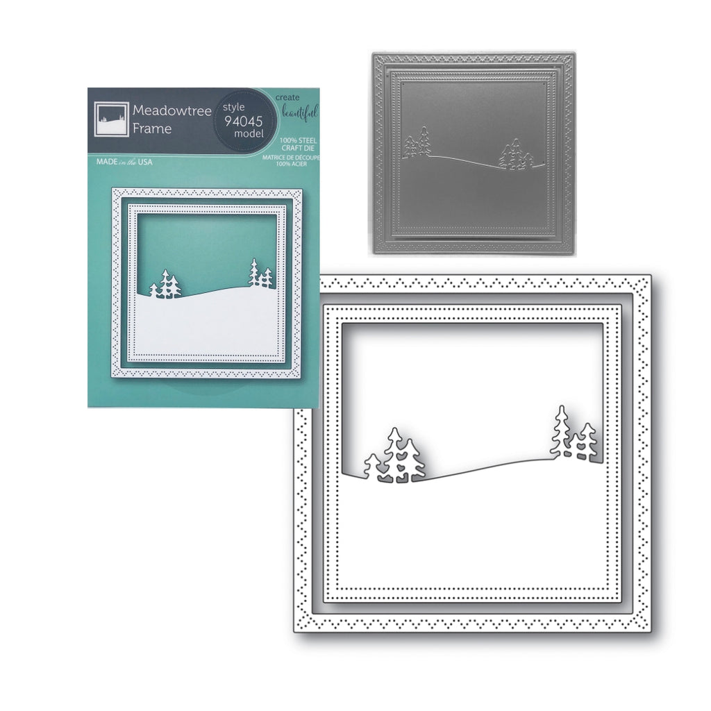 Meadowtree Frame Metal Die Set by Memory Box Dies 94045 - Inspiration Station Scrapbook Store & Retreat