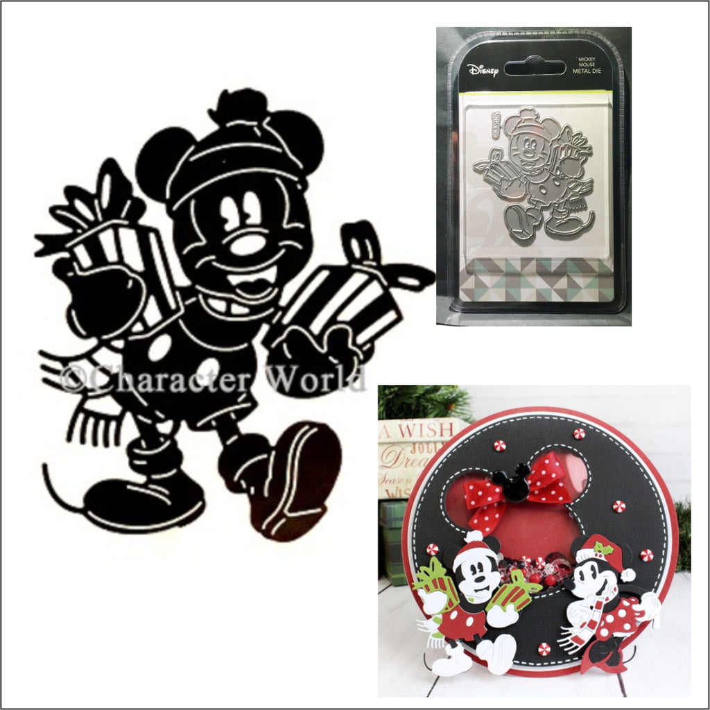 Mickey Mouse Thin Metal Die by Disney and Character World DUS0101 - Inspiration Station Scrapbook Store & Retreat