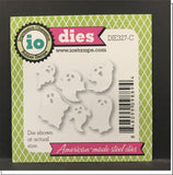 Mini Ghosts Die Cut Set by Impression Obsession Dies DIE327-C - Inspiration Station Scrapbook Store & Retreat