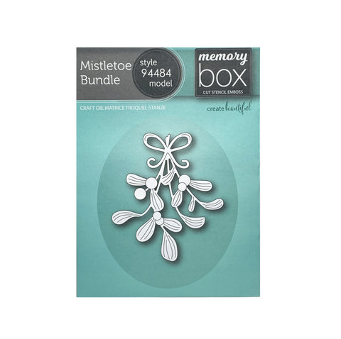 Mistletoe Bundle Die Cut by Memory Box Dies 94484