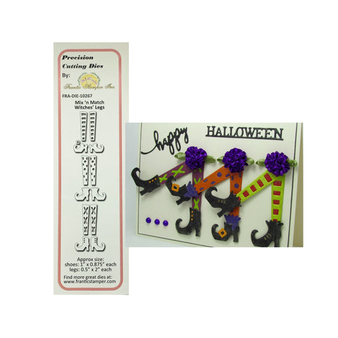 Mix 'n Match Witches' Legs Metal Die Set by Frantic Stamper Dies FRA-DIE-10267 - Inspiration Station Scrapbook Store & Retreat
