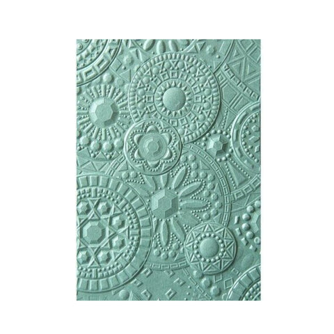 Mosaic Gems 3-D Embossing Folder by Sizzix Embossing Folders 663206