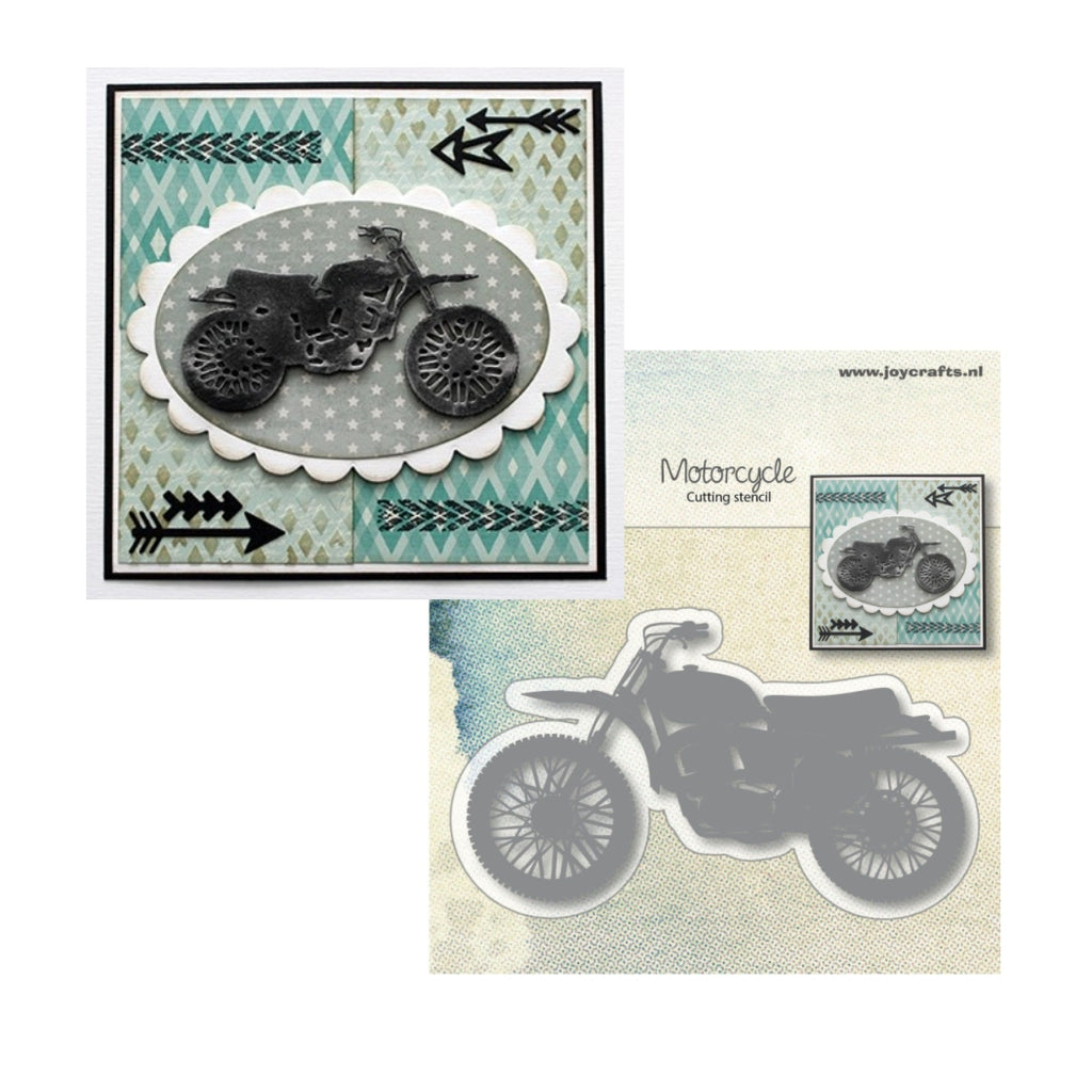 Motorcycle Metal Die by Joy Crafts Dies 6002/0998 - Inspiration Station Scrapbook Store & Retreat