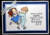 Cutting the Rug Rubber Stamp Cling Rubber Stamp by Stamping Bella MO194 - Inspiration Station Scrapbook Store & Retreat