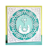 Nativity Circle Metal Die by Memory Box Dies 94035 - Inspiration Station Scrapbook Store & Retreat