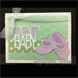 New Baby Metal Words Die by Tonic Studios Dies 1263e - Inspiration Station Scrapbook Store & Retreat