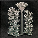Oak Leaves & Rake Metal Die Cutting Set by Impression Obsession Dies DIE201-K - Inspiration Station Scrapbook Store & Retreat