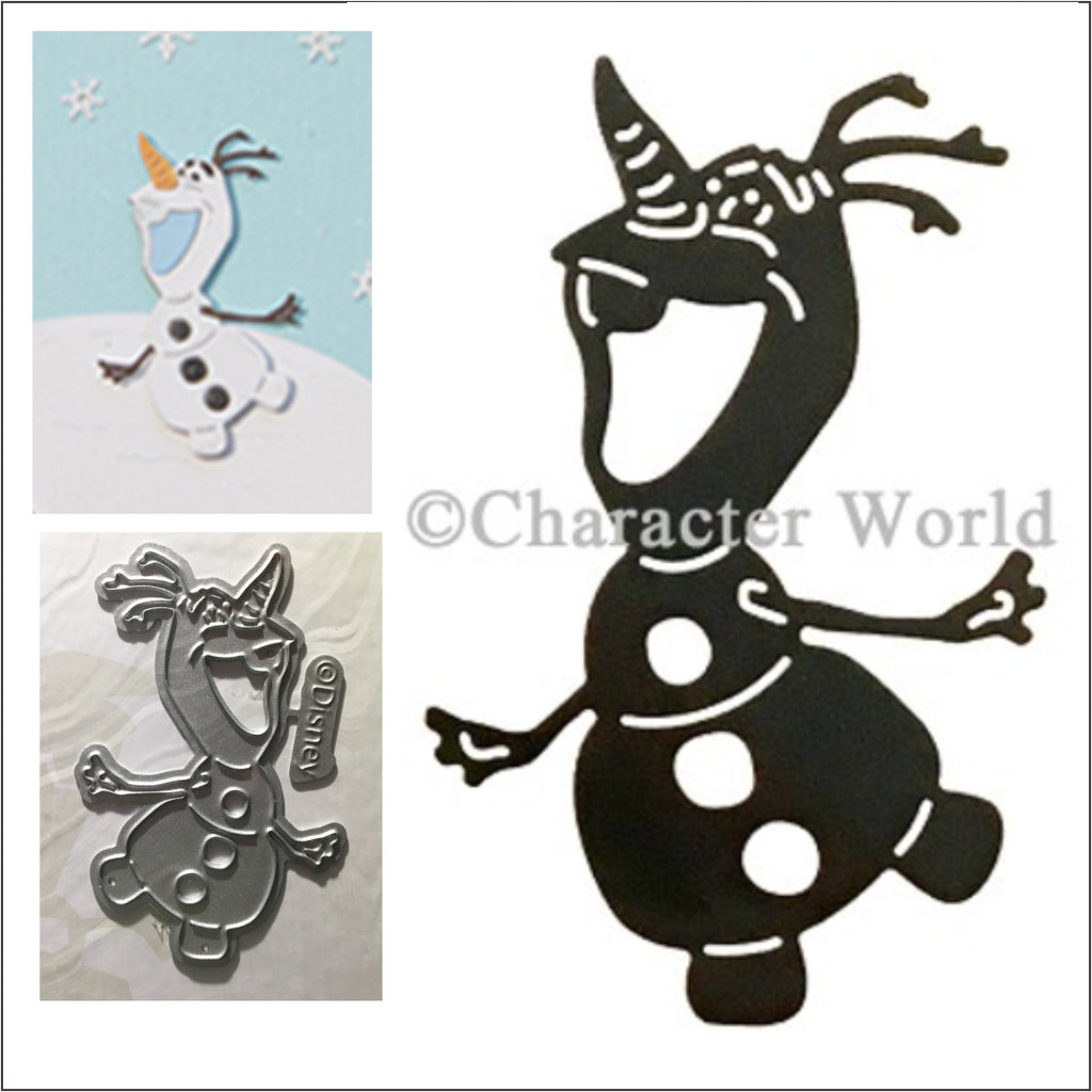 Olaf Thin Metal Die by Disney and Character World DUS0221 - Inspiration Station Scrapbook Store & Retreat