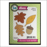 Patchwork Leaves Set Metal Die Cuts by Impression Obsession Dies DIE491-U - Inspiration Station Scrapbook Store & Retreat