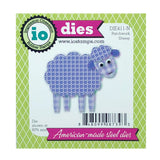 Patchwork Sheep Metal Die Cut Set by Impression Obsession Dies DIE411-N - Inspiration Station Scrapbook Store & Retreat