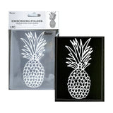 Pineapple Embossing Folder by Darice 30041334 - Inspiration Station Scrapbook Store & Retreat