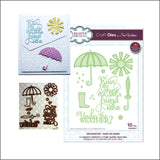 Rain or Shine Die Cut Set by Sue Wilson for Creative Expressions Craft Dies CED23017 - Inspiration Station Scrapbook Store & Retreat