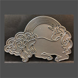 Rainbow Unicorn Metal Die by Impression Obsession Dies DIE652-Q - Inspiration Station Scrapbook Store & Retreat