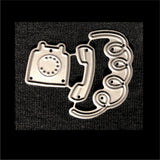 Rotary Phone Die Cut Set by Poppystamps Dies 2057 - Inspiration Station Scrapbook Store & Retreat