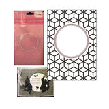 Round Diamonds Cut & Emboss Die Cutting Embossing Folder by Crafts Too HSEFD001 - Inspiration Station Scrapbook Store & Retreat