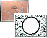 Round Frame 1 Embossing Folder by Nellie Snellen Craft Folders