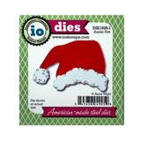 Santa Hat metal die cut by Impression Obsession craft dies DIE01028-I