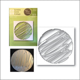 Scribble Circle Collage Die Cut By Poppystamps Dies 2022 - Inspiration Station Scrapbook Store & Retreat