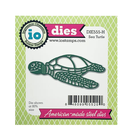 Sea Turtle Die Cut Set by Impression Obsession Dies DIE557-C