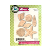 Shell Die Cut Set by Impression Obsession Dies DIE077-W - Inspiration Station Scrapbook Store & Retreat