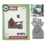 Small Cabin Metal Die Set by Impression Obsession Dies DIE345-Y - Inspiration Station Scrapbook Store & Retreat