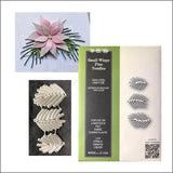 Small Wispy Pine Needles Die Cut Set by Poppystamps Dies 1868 - Inspiration Station Scrapbook Store & Retreat