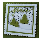 Snowfall Metal Die Cut by Impression Obsession Dies DIE605-Z - Inspiration Station Scrapbook Store & Retreat