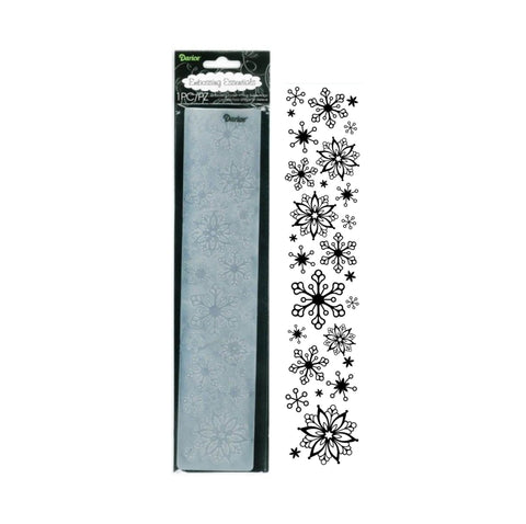 Snowflakes 12 Inch Embossing Folder Border by Darice craft folders 1218-88