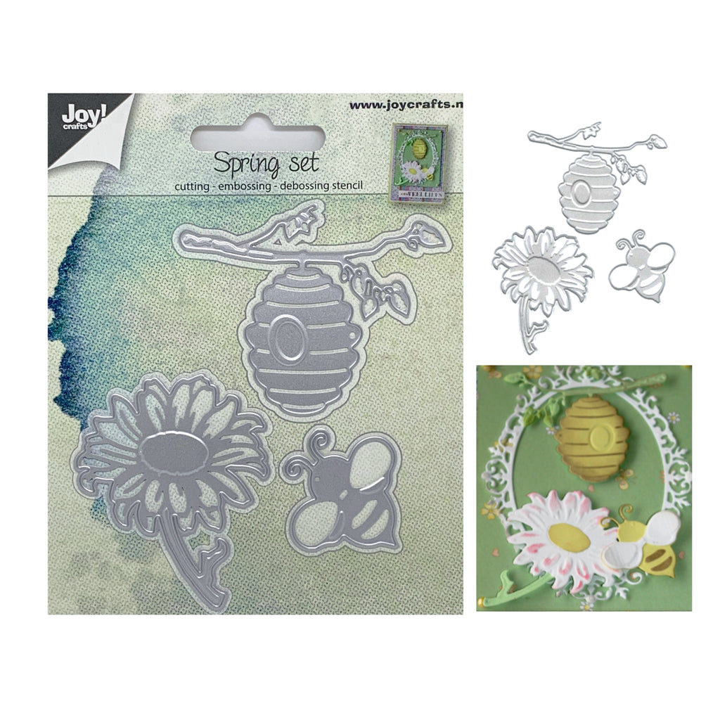 Spring Set Die Cut Set by Joy Crafts Dies 6002/0669 - Inspiration Station Scrapbook Store & Retreat