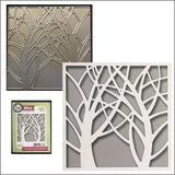 Square Tree Window Die Cut by Impression Obsession Dies DIE458-ZZ - Inspiration Station Scrapbook Store & Retreat