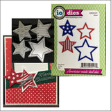 Stars Metal Cutting Die Set by Impression Obsession Dies DIE552-V - Inspiration Station Scrapbook Store & Retreat