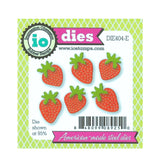 Strawberries Die Cut Set by Impression Obsession Dies DIE404-E - Inspiration Station Scrapbook Store & Retreat