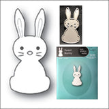 Sweet Bunny Die Cut by Memory Box Dies 99905 - Inspiration Station Scrapbook Store & Retreat