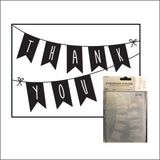 Thank You Banner Embossing Folder by Darice Embossing Folders 30032589 - Inspiration Station Scrapbook Store & Retreat