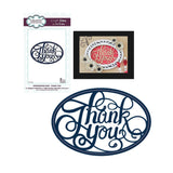 Thank You Thin Metal Die by Sue Wilson for Creative Expressions Dies CED5403 - Inspiration Station Scrapbook Store & Retreat