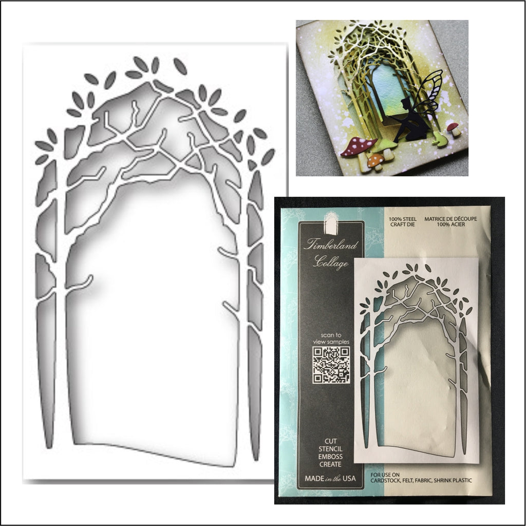Timberland Collage Die Cut by Memory Box Dies 99713 - Inspiration Station Scrapbook Store & Retreat