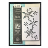 Tisdale Snowflake Collage Die Cut by Memory Box 99827 - Inspiration Station Scrapbook Store & Retreat