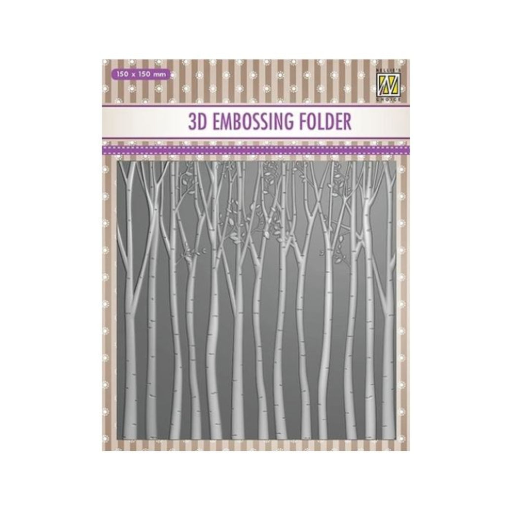Trees 3D Embossing Folder by Nellie Snellen Embossing Folders EF3D013