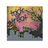 Trick or Treat Words Die Cut by Impression Obsession Dies DIE342-A - Inspiration Station Scrapbook Store & Retreat