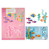 Eline's Tropical Fish Metal Die Cut Set by Marianne Design Dies COL1431 - Inspiration Station Scrapbook Store & Retreat