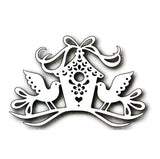 Tweet Home Metal die cut Tutti Designs craft dies TUTTI-106
