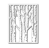 Vertical Birch Trees Card Panel Die by Frantic Stamper Dies FRA-DIE-09274 - Inspiration Station Scrapbook Store & Retreat