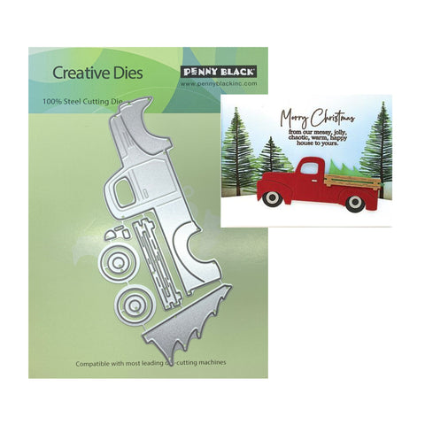 Vintage Truck Craft Die Set by Penny Black Dies 51-571 - Inspiration Station Scrapbook Store & Retreat